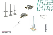 System-free scaffolding accessories